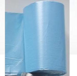 Obrazek Worki na śmieci 60L niebieskie HDPE Opakowanie 50 szt.