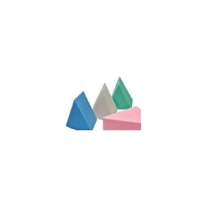 Obrazek Gąbki do podkładu Gąbka do makijażu kolorowe trójkąty 8 sztuk
