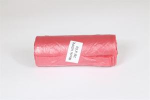 Obrazek Worki odpady medyczne czerwone HDPE SUPER WYTRZYMAŁE 35 L 50 SZT.