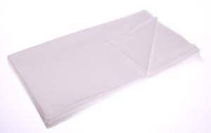 Obrazek WYPRZEDAŻ Podkład jednorazowe z białej włókniny 50x70 cm gramtura 20m2/50 sztuk BI WYPRZEDAŻ -15%