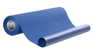 Obrazek Podkład papierowy podfoliowany w roli 50/40 m 2w papieru + 1w folii kolor granatowy 1 karton - 9 rolek