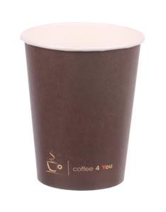 Obrazek Kubek jednorazowy papierowy 0,3l / 300 ml  50 sztuk Coffe 4 You