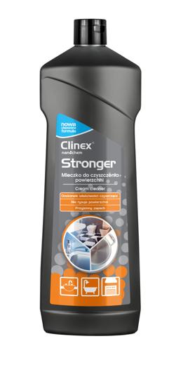 Obrazek Clinex Stronger mleczko do czyszczenia powierzchni 750 ml