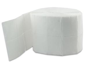 Obrazek Płatki bezpyłowe 4x5 cm Waciki bezpyłowe 12 warstwowe 1000 szt.