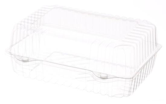 Obrazek Jednorazowe pojemniki pojemnik na ciasto zamykamy 100s/2205 100 sztuk