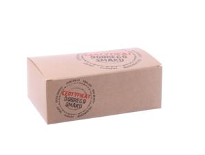 Obrazek Jednorazowe pudełko na wynos opakowanie na kurczaka z nadrukiem 22x12x7cm 100szt
