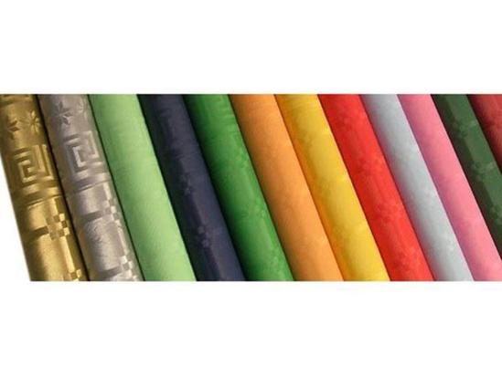 Obrazek Jednorazowy obrus papierowy jasno zielony 6m