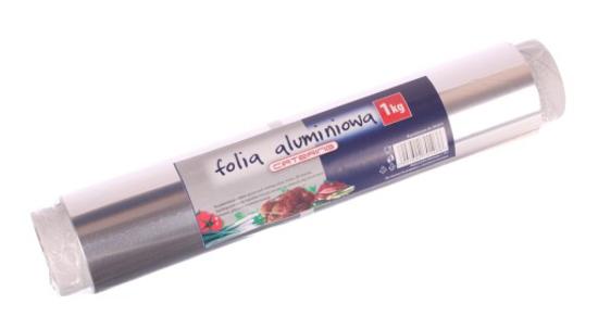 Obrazek Folia aluminiowa gastronomiczna szerokość 30 cm długość 100 m 1 kg