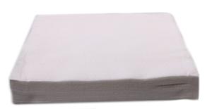 Obrazek Chusty zabiegowe Chusteczki kosmetyczne z włókniny i celulozy grube 40x70 cm białe Opakowanie 100 sztuk