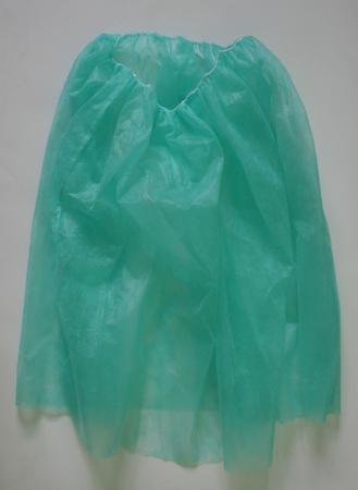 Obrazek Spódniczka ginekologiczna jednorazowa na gumce Kolor zielony 1 szt.