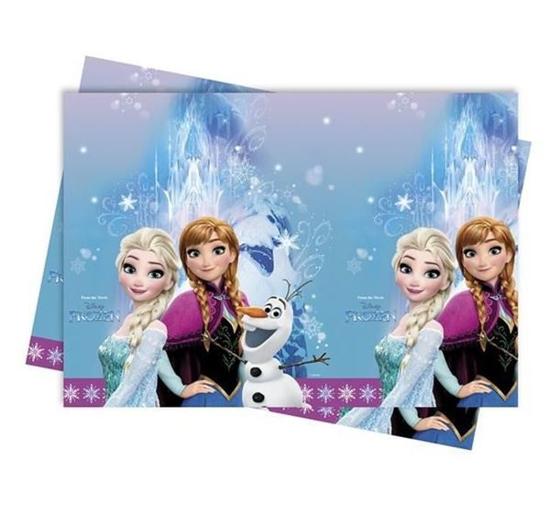 """Obrazek WYPRZEDAŻ Obrus Kraina Lodu 120x180 """"Frozen"""" Opakowanie 1 sztuka WYPRZEDAŻ -15%"""