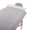 Obrazek Prześcieradło jednorazowe kosmetyczne Podkład na stół do masażu Prześcieradło z włókniny szerokość 80 cm 300 m gr 20/m2 bez perforacji kolor biały