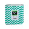 Obrazek Rurki do napojów Słomki proste papierowe ekologiczne kolorowe niebieskie czerwone zielone  250 szt.