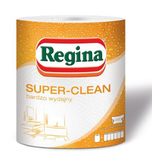 Obrazek Ręczniki papierowe kuchenne Ręcznik papierowy kuchenny Regina SUPER CLEAN MEGA-WYDAJNY