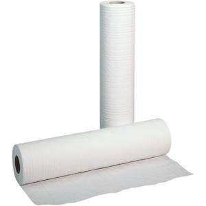 Obrazek Podkład higieniczny prześcieradło jednorazowe papierowe 50 cm 50 m 1 karton 6 rolek