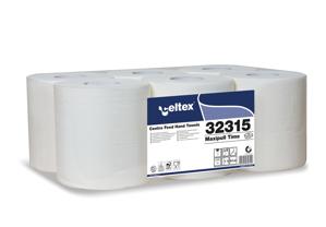 Obrazek Ręczniki papierowe Ręcznik papierowy CELTEX 450 odcinków 19x30 cm 135 m 6 rolek kod-32315