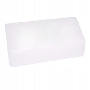 Obrazek Parafina kosmetyczna bezzapachowa, kostka 400 ml