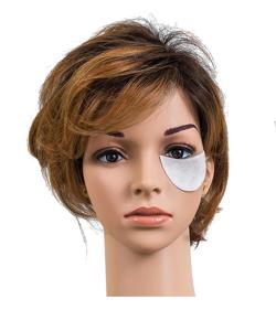 Obrazek Płatki pod oczy do henny z włókniny Płatki kosmetyczne z włókniny 100 szt.