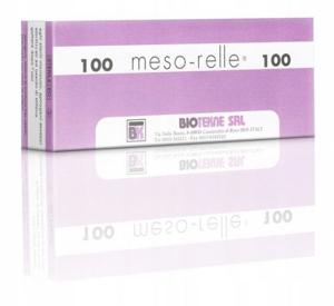 Obrazek IGŁA DO MEZOTERAPII MESO-RELLE 31G (0,26) 4mm 1 SZT. IGŁY DO MEZOTERAPII MESO-RELLE 1 SZT.