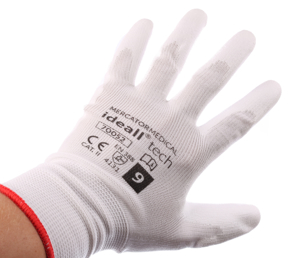 Obrazek Rękawice ochronne IDEALL TECH 70052 Rozmiar 9 Rękawice dziane bezszwowe pokryte poliuretanem 1 para