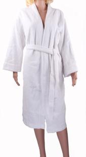 Obrazek dla kategorii Szlafroki kosmetyczne frotte szlafrok kąpielowy biały damski i męski