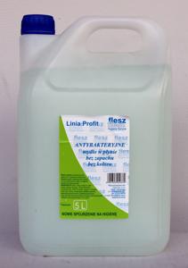 Obrazek Mydło antybakteryjne bez zapachu bez koloru 5L