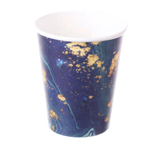 Obrazek Kubki jednorazowe Kubek jednorazowy do gorących napojów kawy herbaty 0,3L 50 szt.