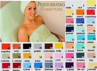 Obrazek dla kategorii Prześcieradło kosmetyczne frotte na fotel kosmetyczny standardowy 60x190 cm