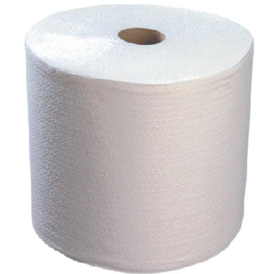 Obrazek Ręczniki  celulozowo-włókninowe w roli 1 sztuka Ręcznik z włókniny i celulozy fryzjersko kosmetyczny AIRLAID SUPER WAVE 365 odcinków 155 m 1 rolka