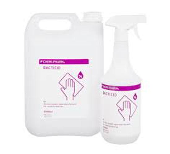 Obrazek BACTICID 5L płyn do mycia i dezynfekcji powierzchni gotowy do użycia 30 sekund działanie bakteriobójcze, grzybobójcze, prątkobójcze, wirusobójcze