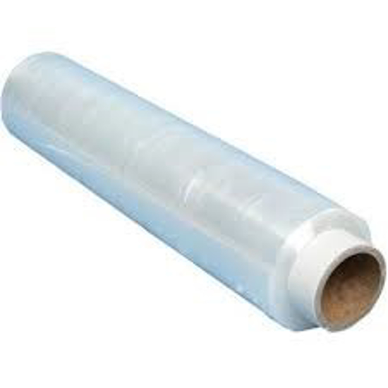 Obrazek Folia stretch 2,4 kg transparentna szerokość 50 cm duża rolka