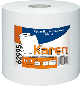 Obrazek Ręczniki papierowe Ręcznik papierowy z gofrem 150 m 6 rolek