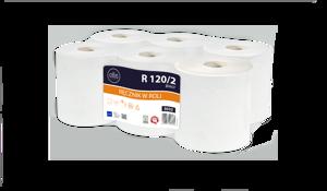 Obrazek Ręczniki papierowe Ręcznik papierowy 120 m 1 rolka Lamix R 120/2